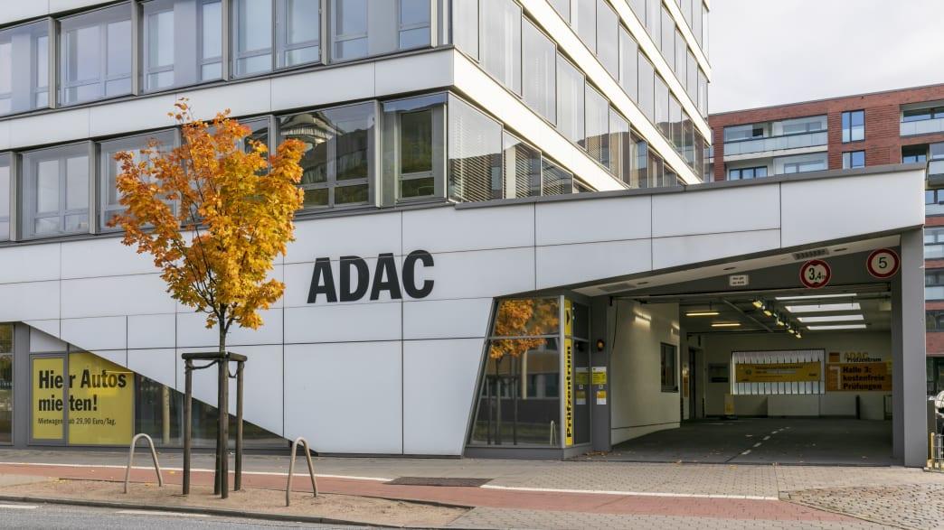 Außenansicht ADAC Prüfzentrum Hamburg