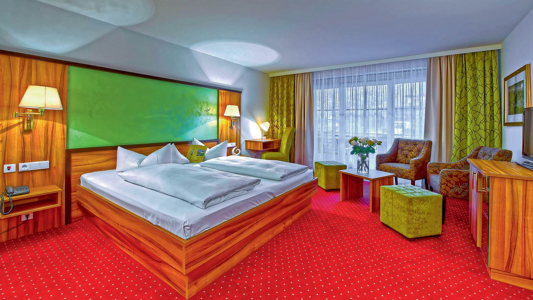Königshof Hotel & Resort in Oberstaufen - Zimmerbeispiel Doppel Komfort