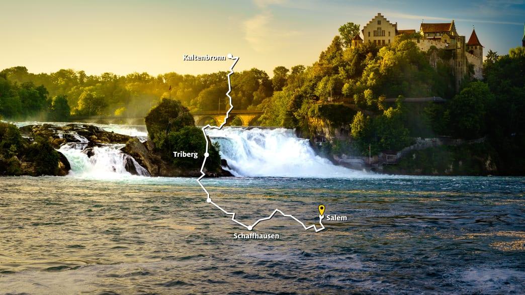 Route 1: Schwarzwald und Bodensee
