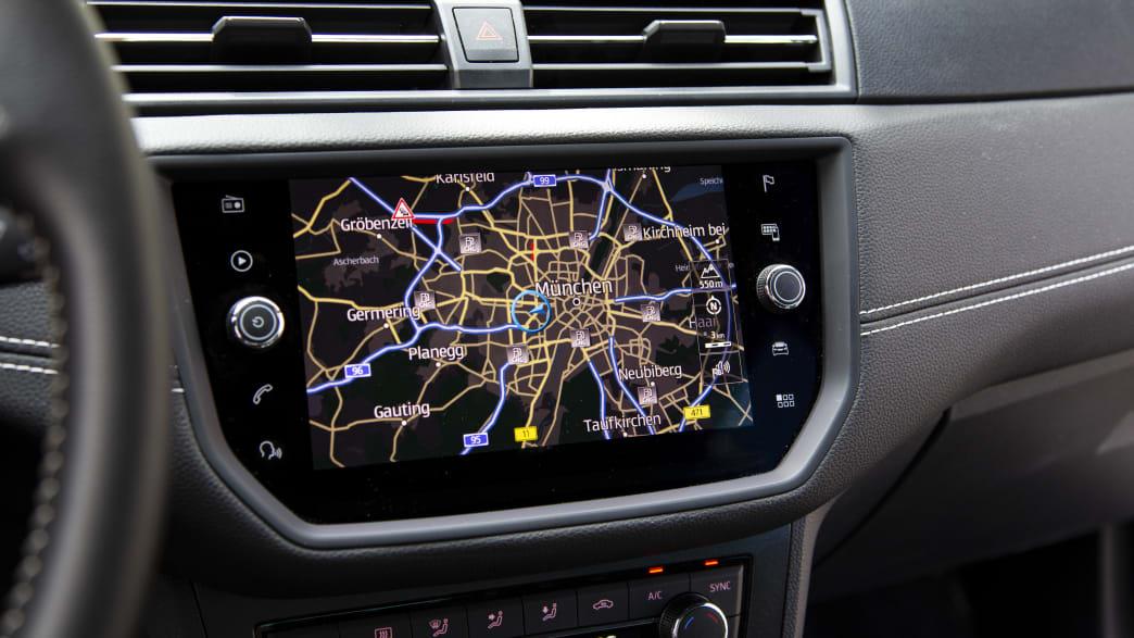 Seat Arona TGI Navigationsgerät