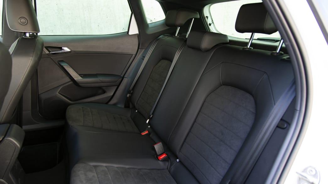 Seat Arona TGI Rückbank