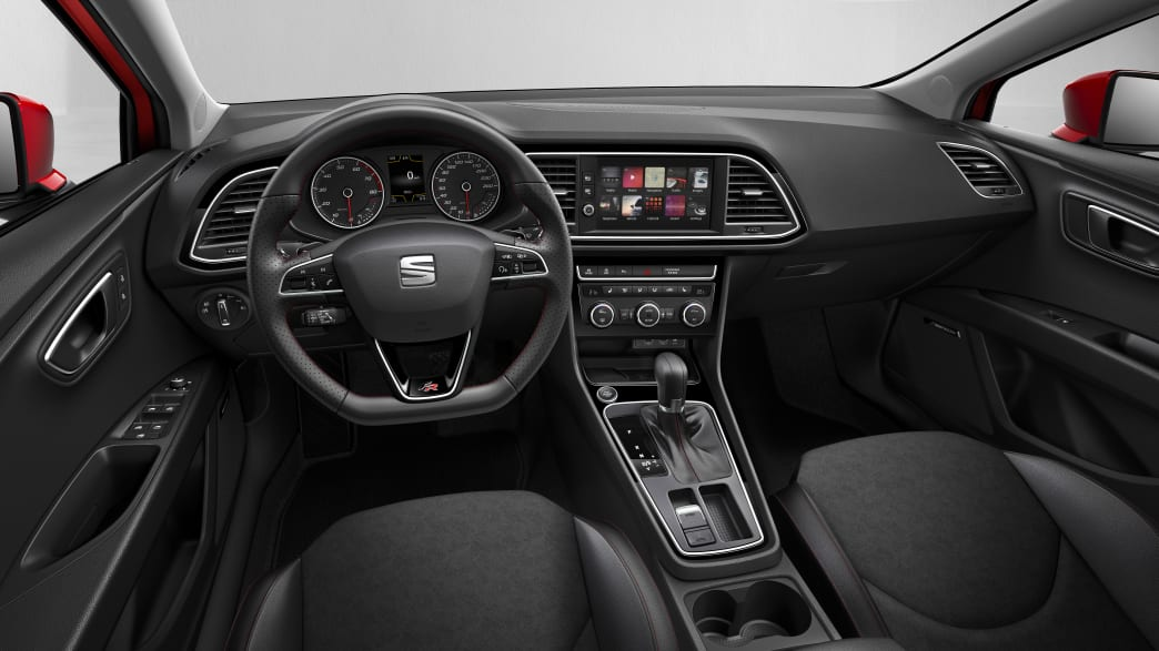 Cockpit eines Seat Leon