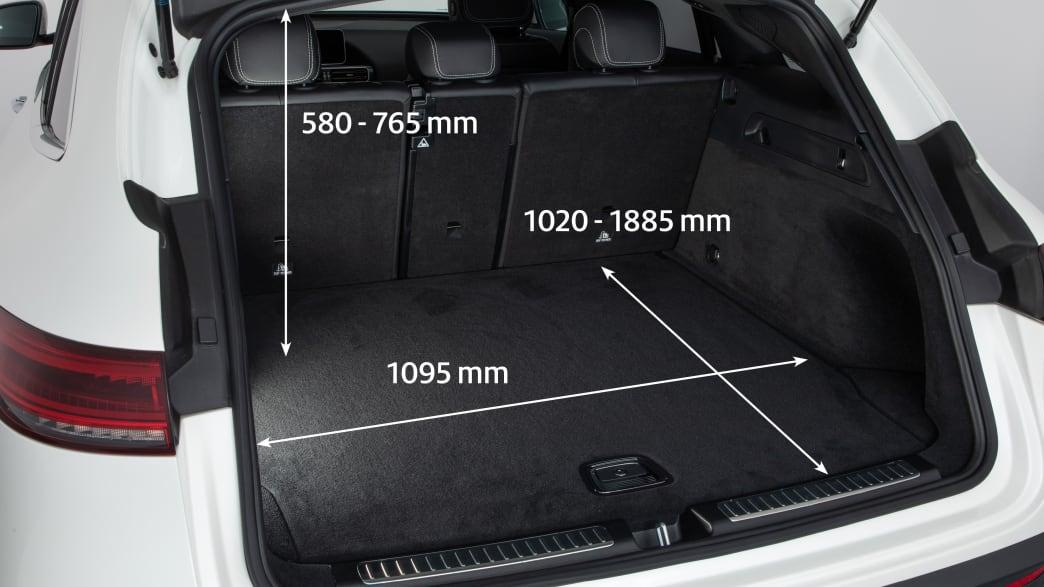 Mercedes EQC Kofferraum
