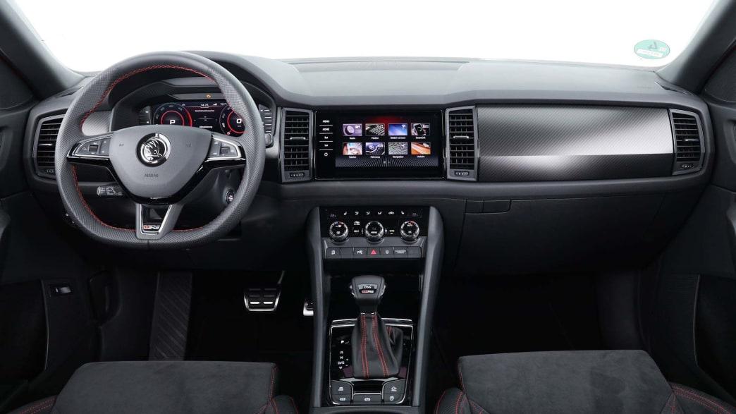 Cockpit Skoda
