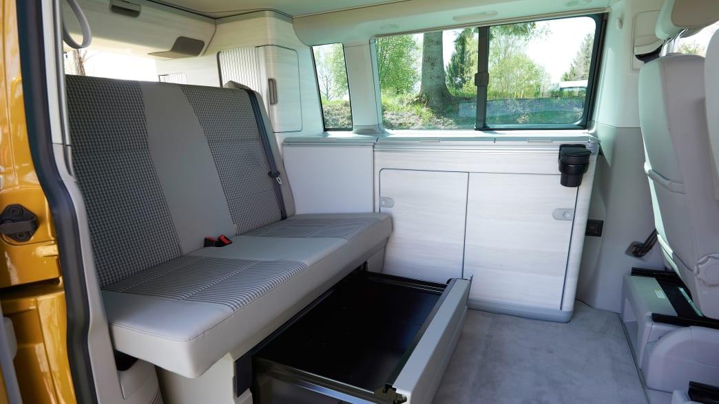 Innenraum eines VW California