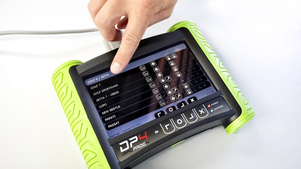 Ein Gerät zur Tachomanipulation