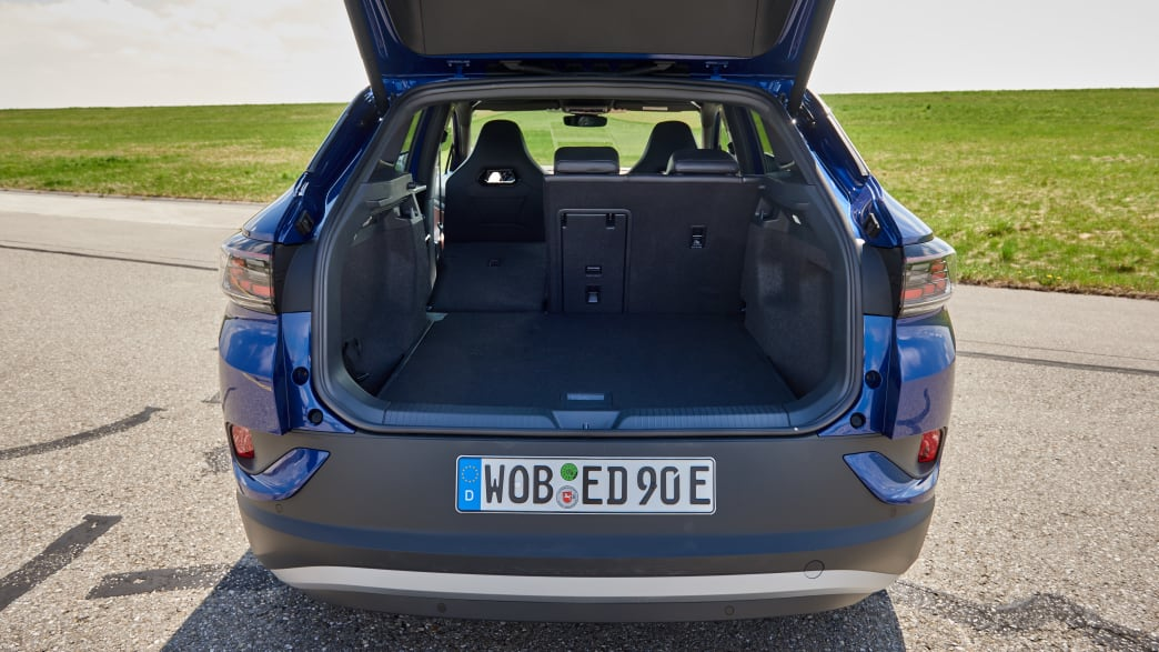 Kofferraum des VW ID4