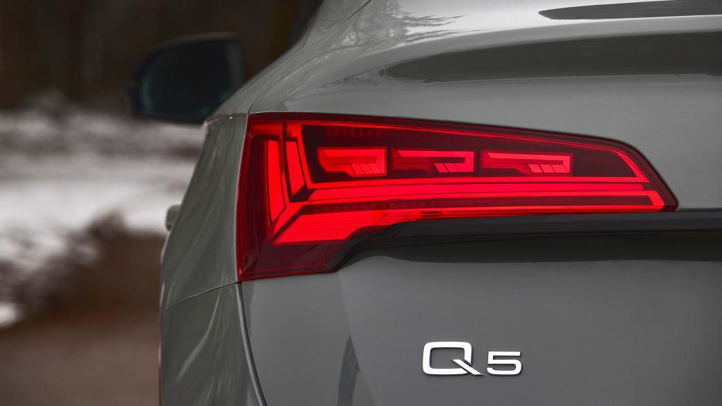 Oled Rücklicht des Audi Q5