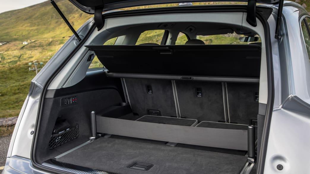 Der Kofferraum vom Audi Q7