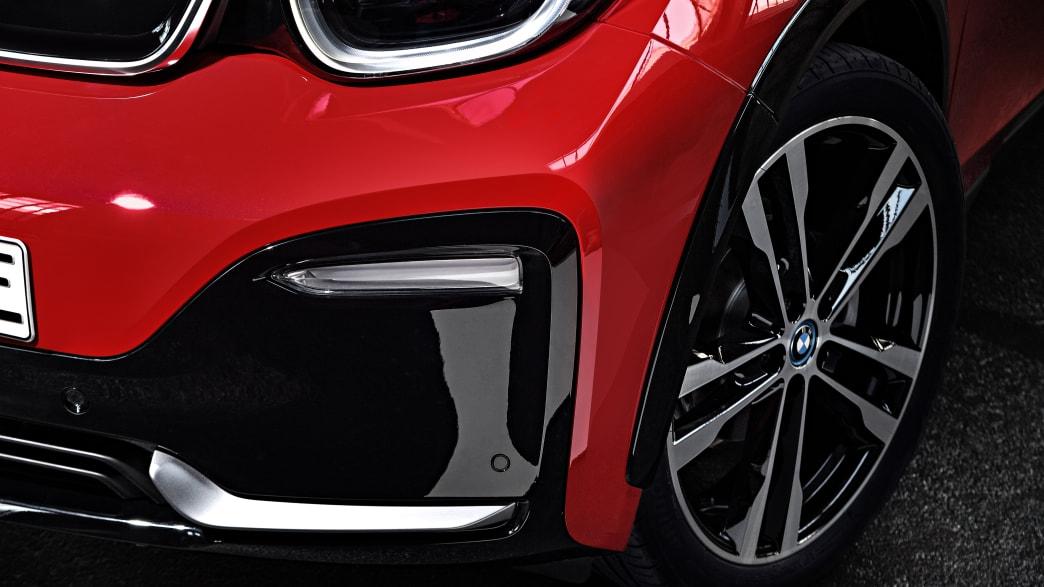 Frontlicht eines BMW i3S