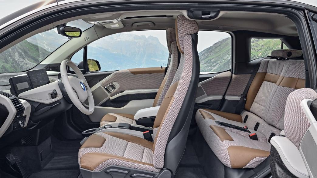 Innenraum eines BMW i3S