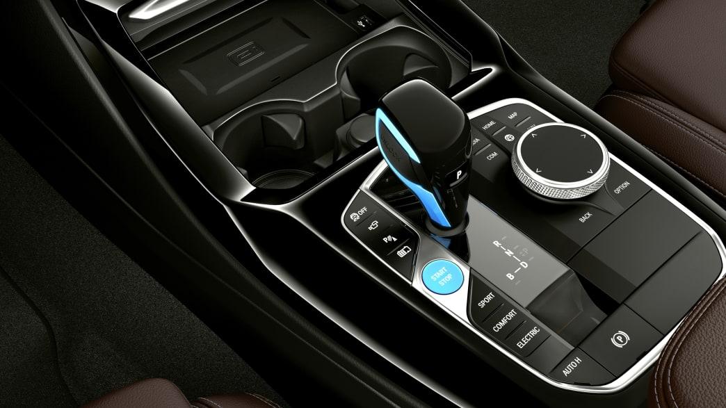 Ein Facelift des Elektroautos BMW IX3 wird vorgestellt