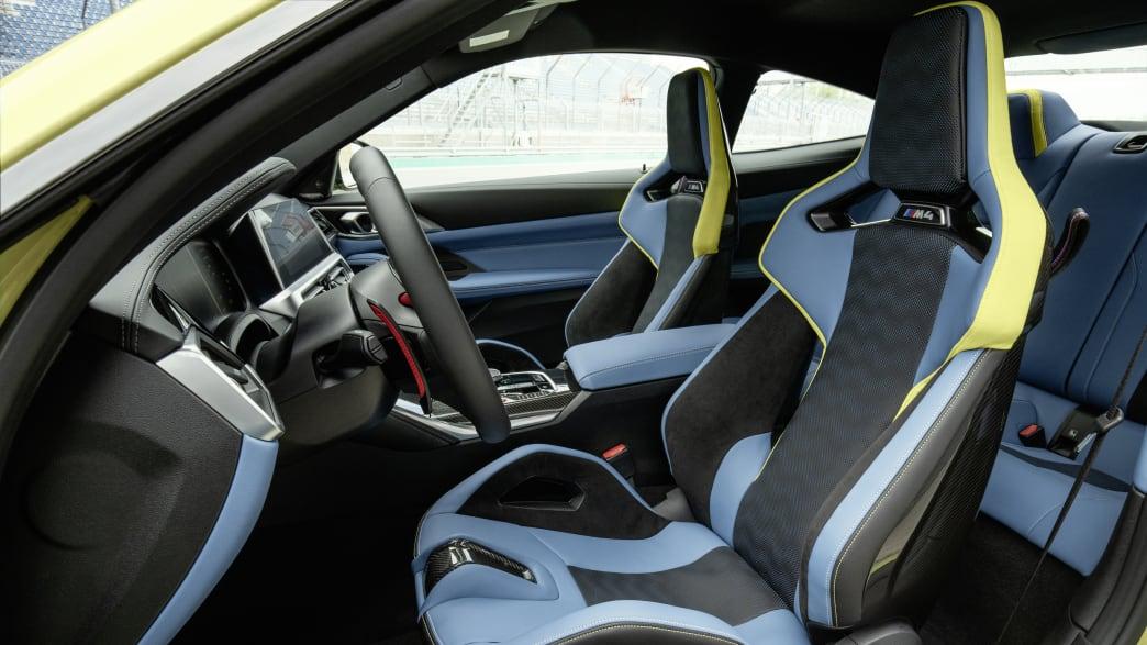 Innenraum eines BMW M4