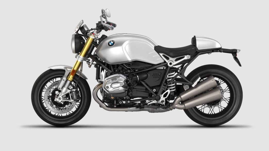 Freisteller vom Motorrad BMW R nine T