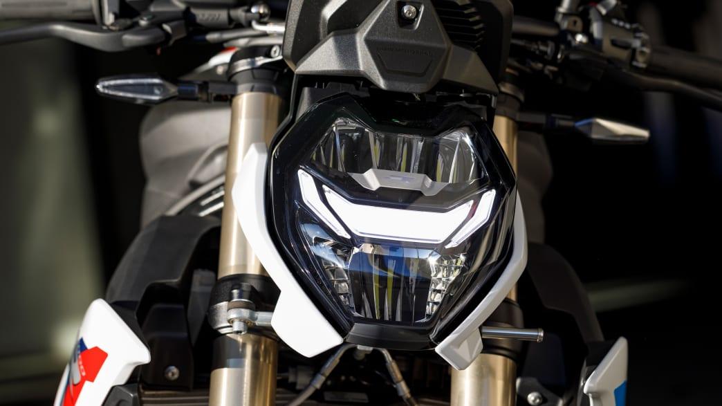 Scheinwerfer der BMW S 1000 R