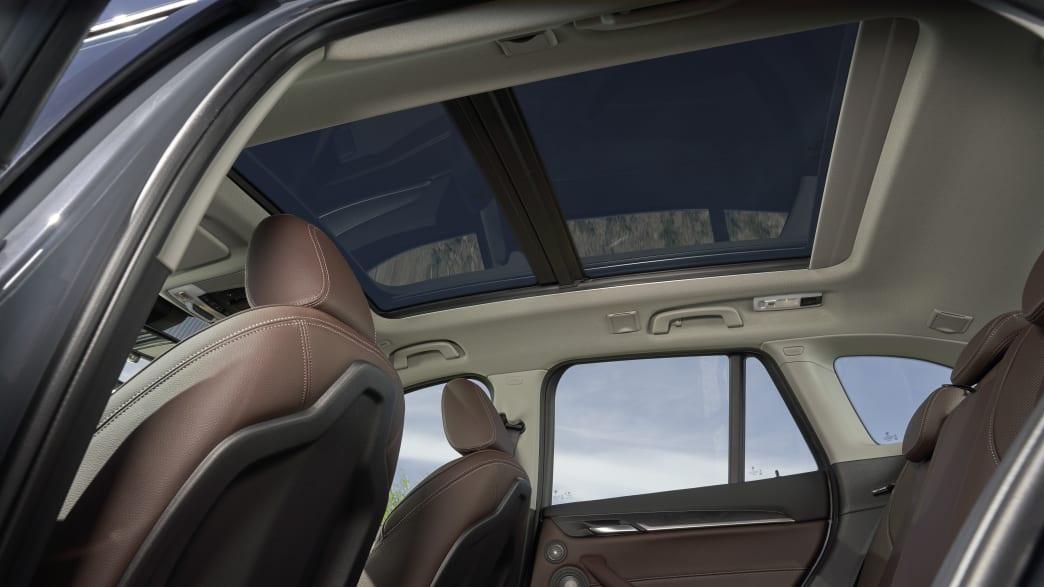 BMW X1 Panoramadach