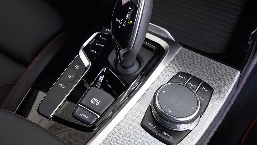 Gangschaltung eines BMW X4