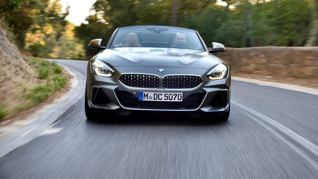 das BMW Z4 Model von 2018 von vorne