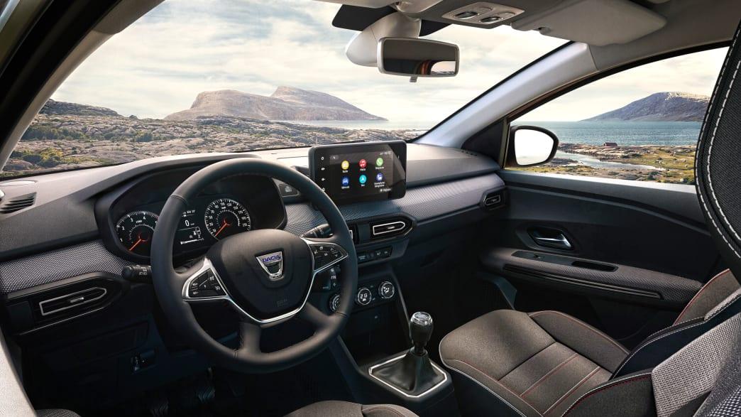 Cockpit des Dacia Jogger