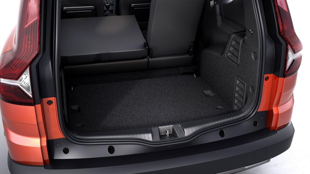 Kofferraum des Dacia Jogger
