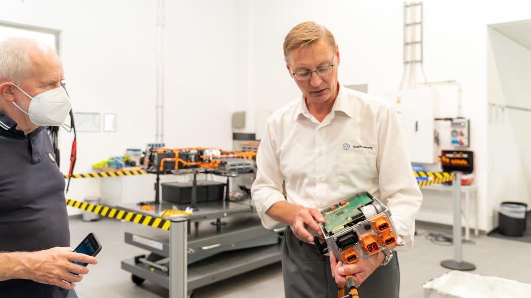 Technischer Trainer Johannes Walther im Gespräch