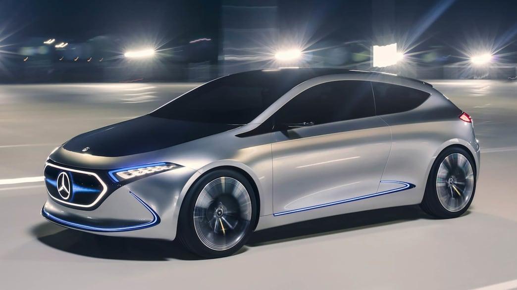 Elektroauto Studie vom Mercedes IX 3