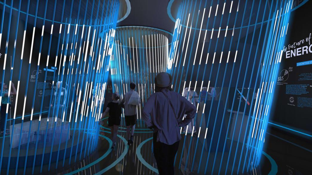 LAVA Der Deutsche Pavillon CAMPUS GERMANY mit der Ausstellung Energy Lab
