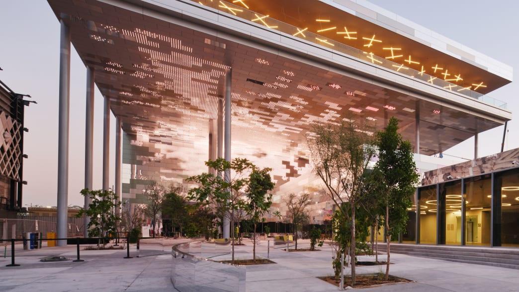 Der französische Pavillion auf der Expo2020 in Dubai