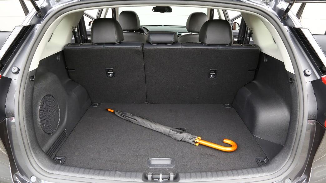 Kofferraum eines Kia Ceed E-Niro