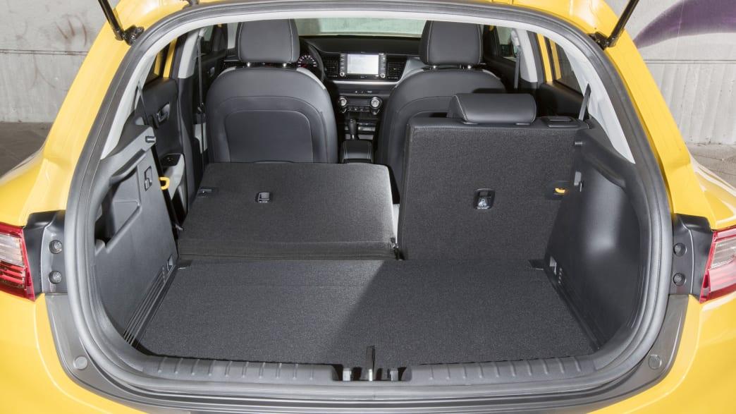 Kofferraum eines Kia Sonic