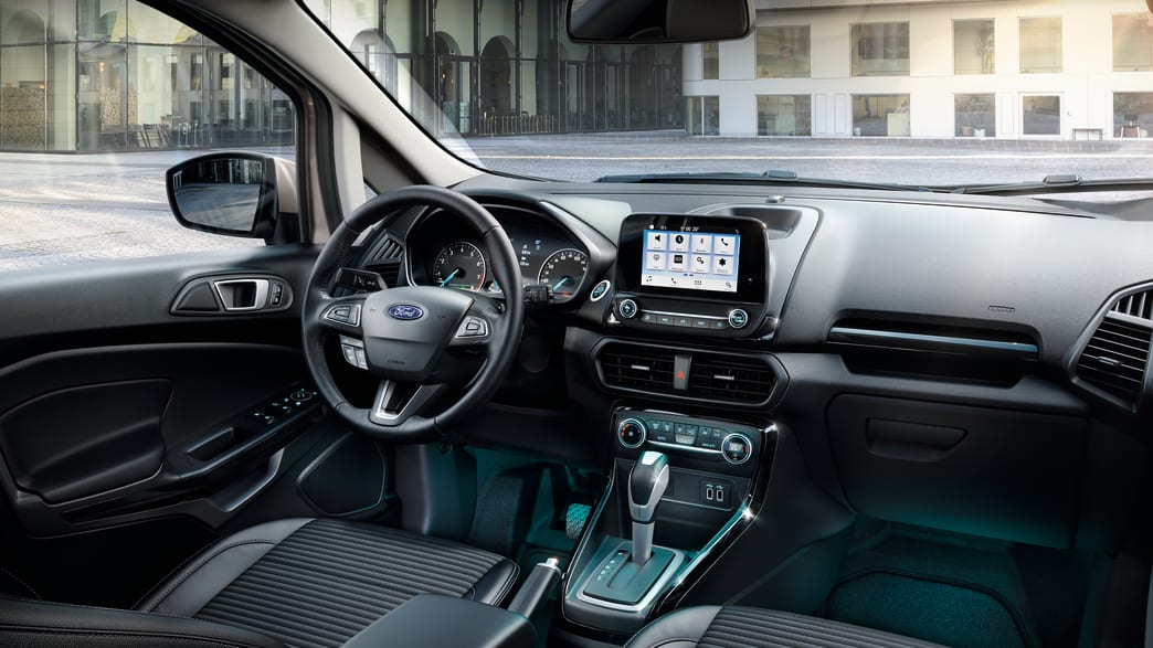 Cockpit eines Ford EcoSport