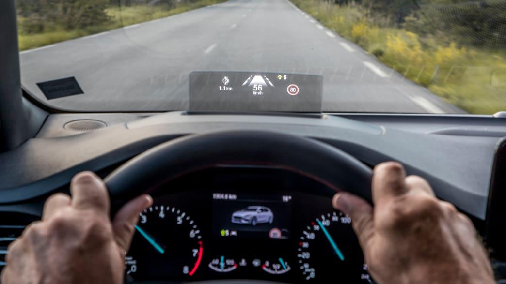Display eines Ford Focus Turnier