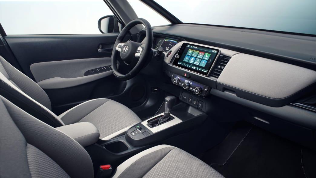 Cockpit des Honda Jazz