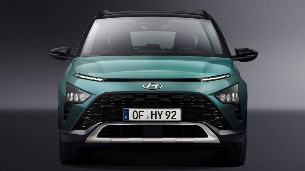 Frontansicht des Hyundai Bayon