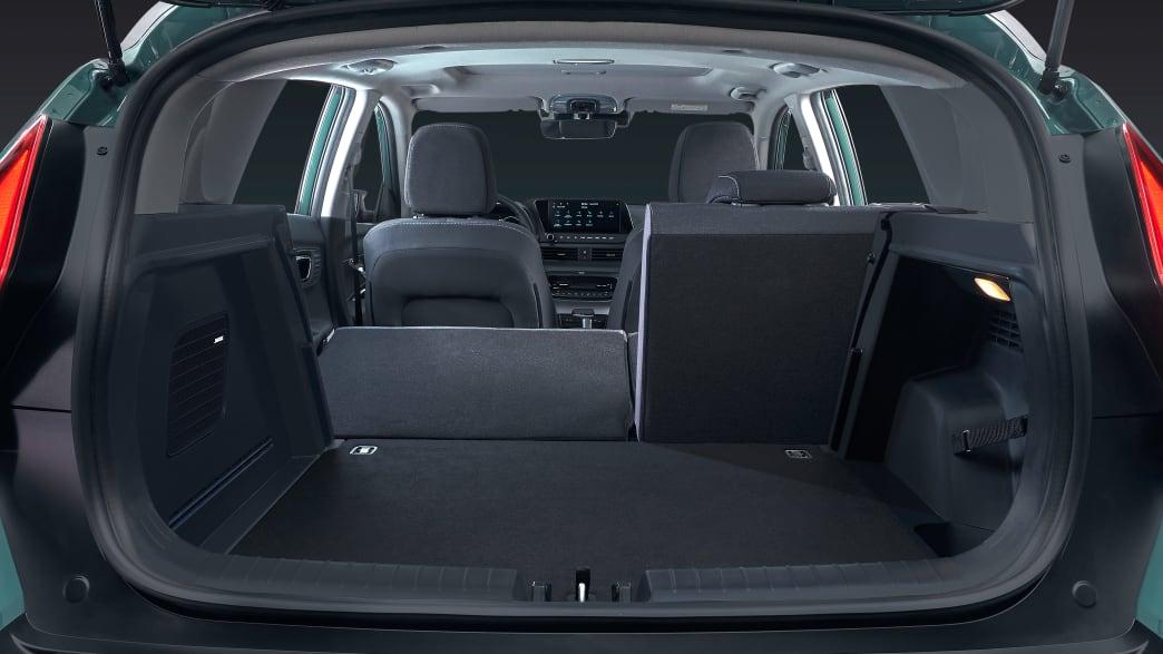 Kofferraum des Hyundai Bayon