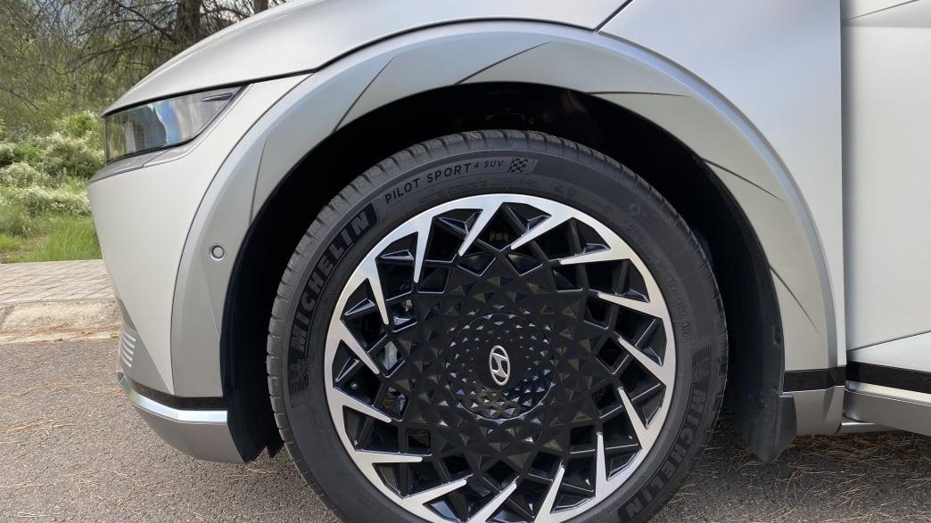 Felgendetail des Hyundai Ioniq 5