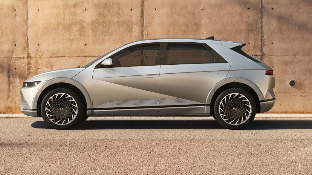 Seitenansicht des Hyundai Ioniq 5
