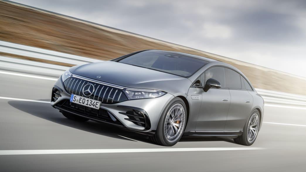 Der Neue Mercedes-AMG EQS auf der IAA in München
