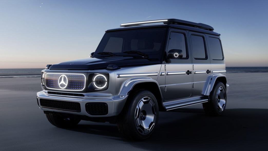 Der neue Mercedes EQG auf der IAA in Muenchen 2021