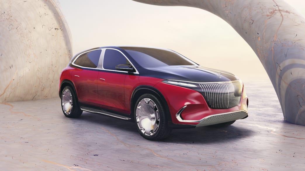 Der neue Mercedes-Maybach EQS auf der IAA in München 2021