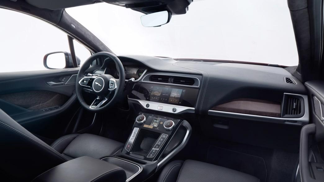 Cockpit eines Jaguar I-Pace
