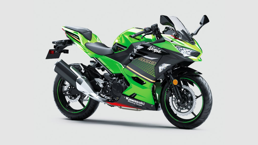 Kawasaki Ninja 400 stehend