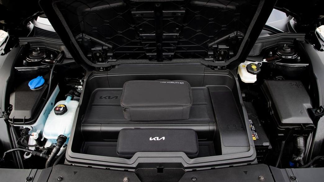 Der Motor des Kia EV6 GTL