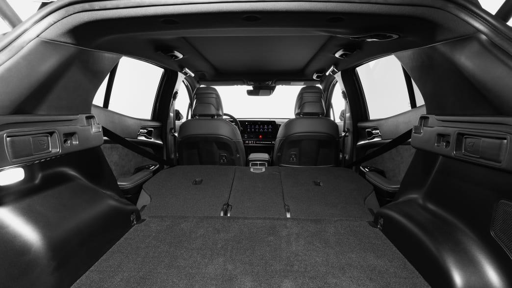 Kofferraum des Kia Sportage