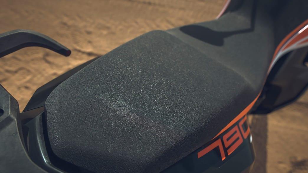 Sitzbank einer KTM 790 Adventure
