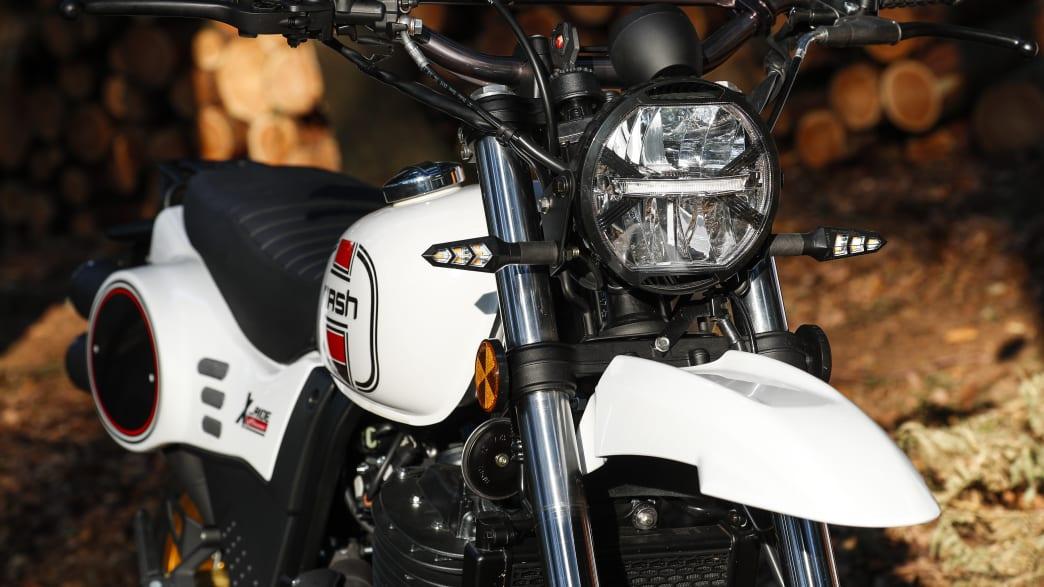 Vorderteil des Motorrad Mash X-Ride 650