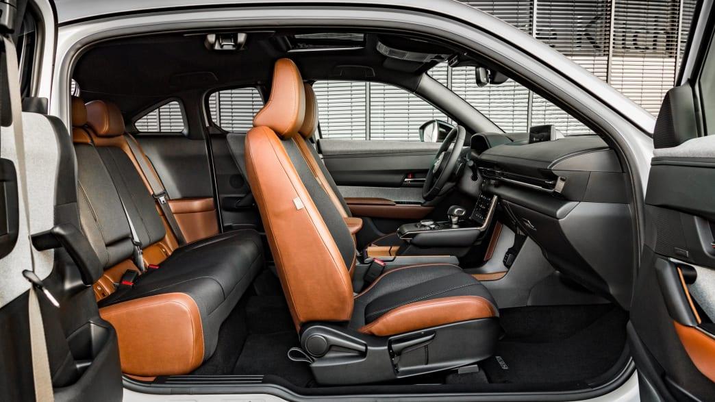 Fahrgastraum eines Mazda MX-30