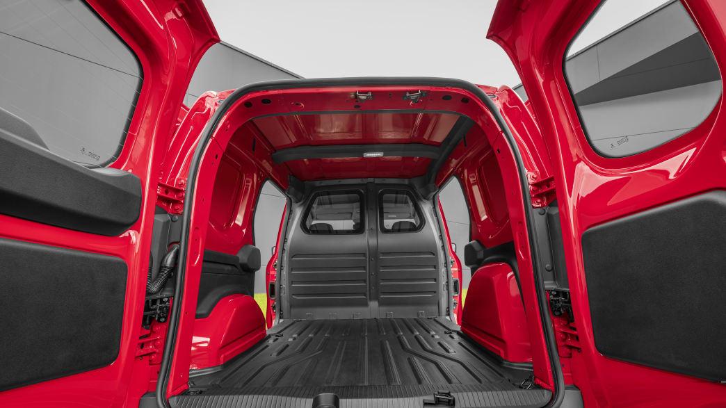Die Ladefläche des neuen Mercedes Citan