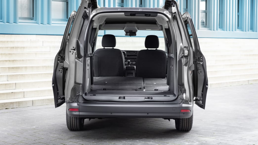 Der neue Mercedes Citan mit umgelegten Sitzen