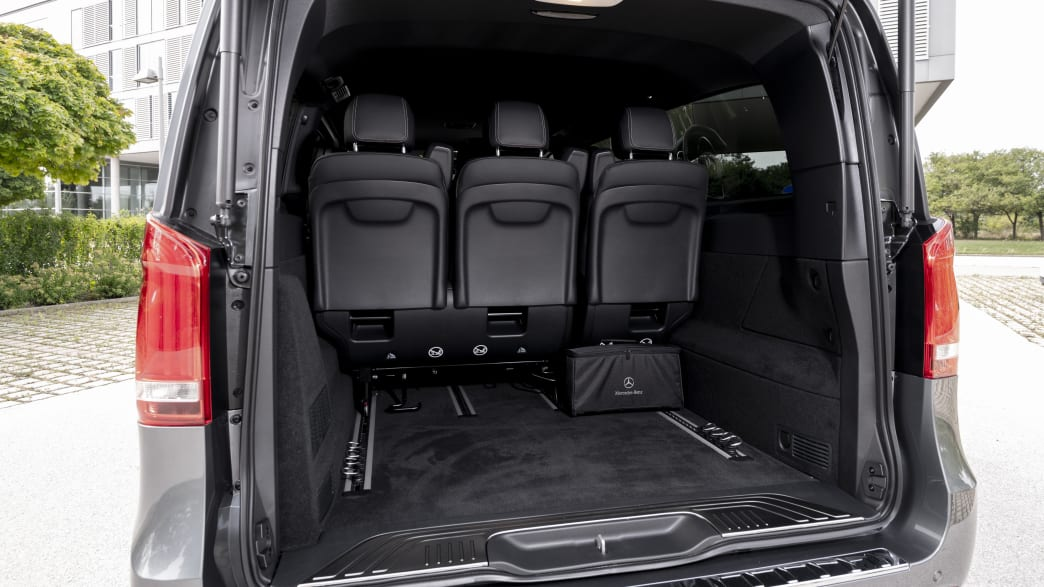 Mercedes EQV Kofferraum
